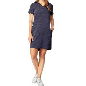 NEW 32 Degrees Womens Jersey V-Neck High-low Dress